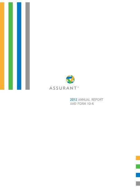 Assurant-2012-Annual-Report-And-Form-10-K-feature-snapshot